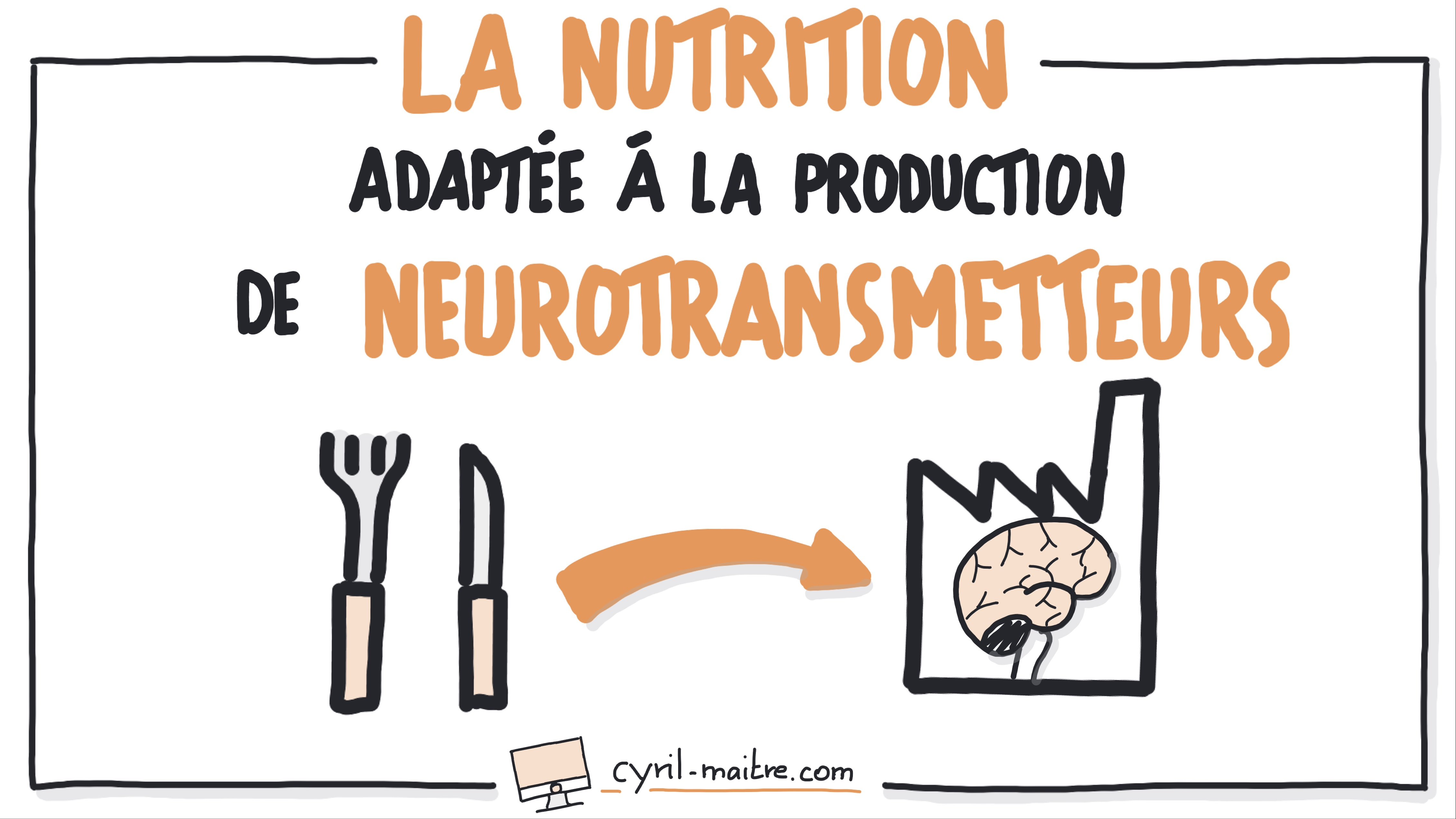 La nutrition et neurotransmetteurs