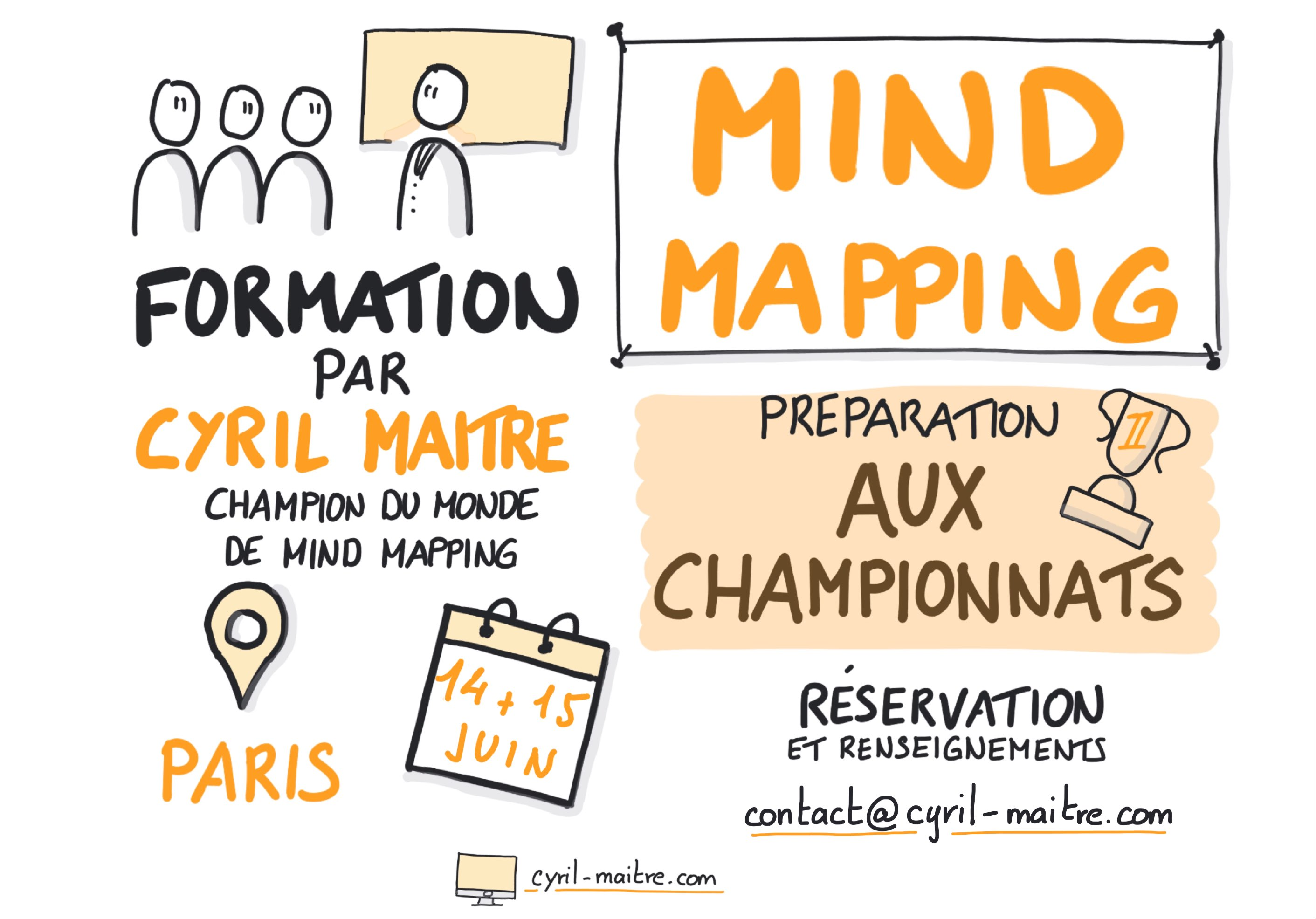 Mind mapping competition cyril maitre 2