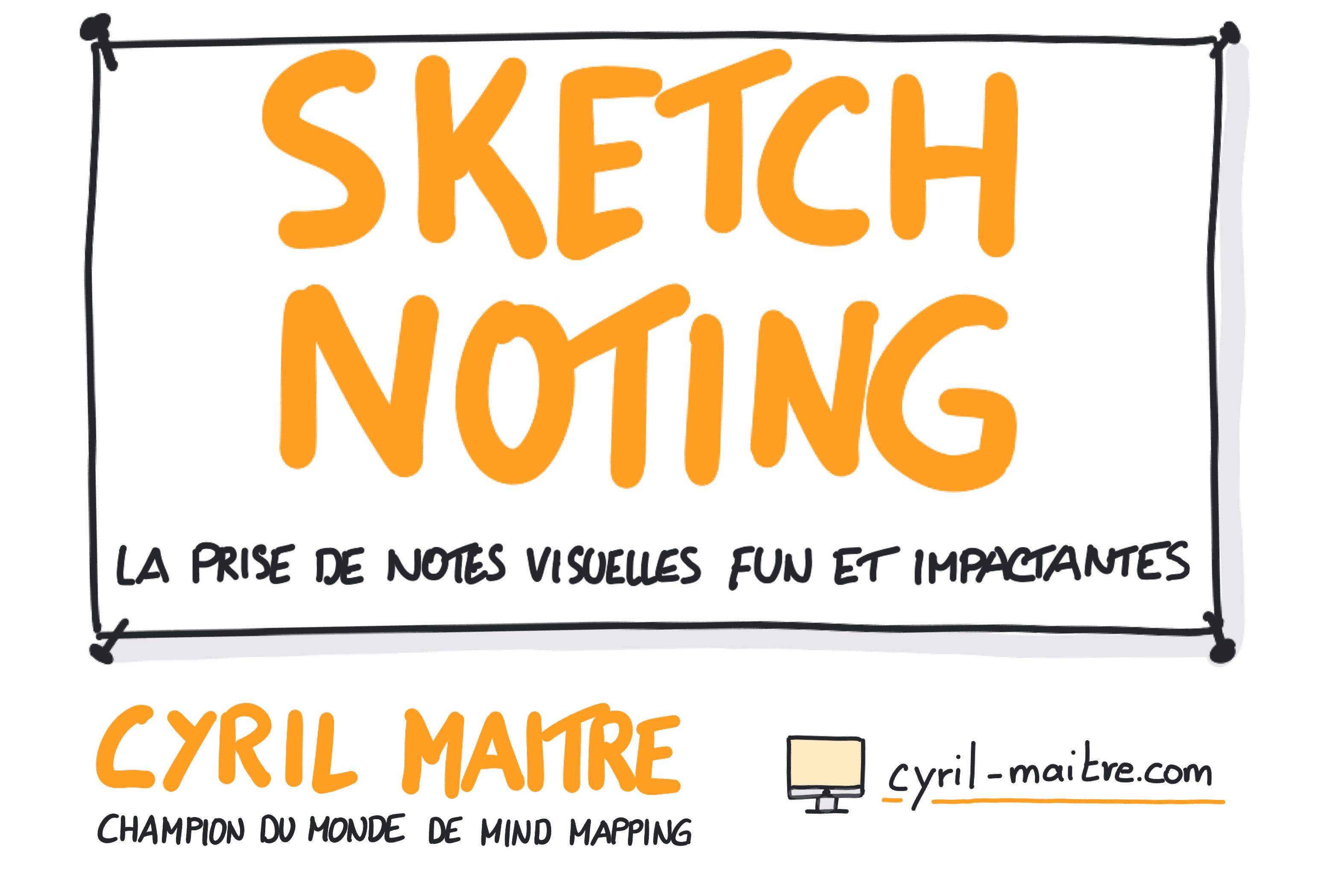 Les formations Zoom Praticien Sketchnoting