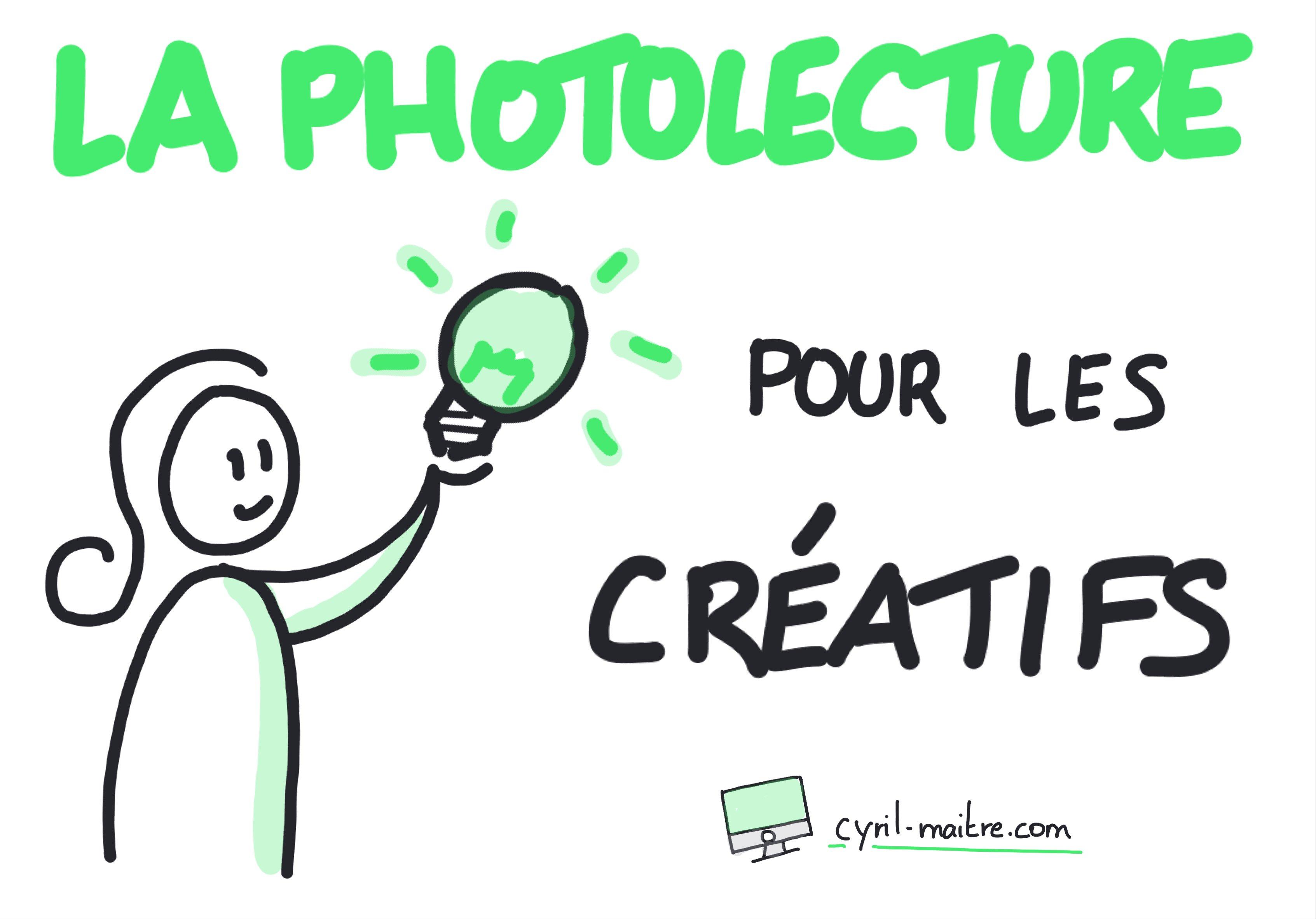 la Photolecture pour les créatifs