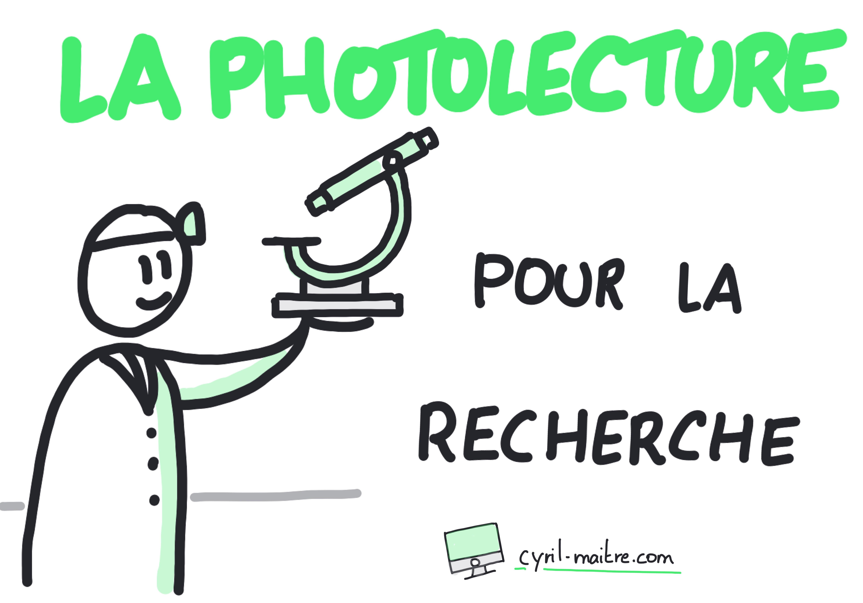 La Photolecture pour la recherche