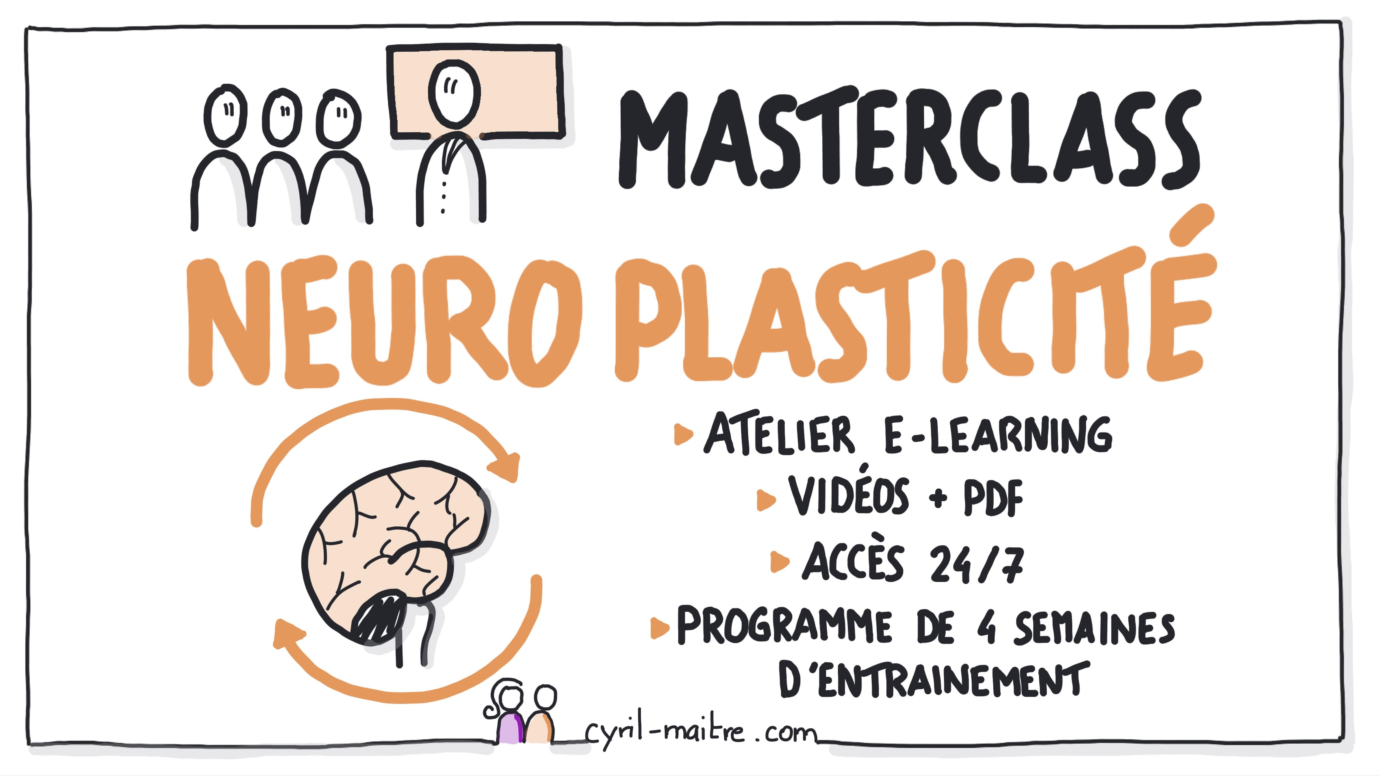 Découvrez la masterclass neuroplasticité
