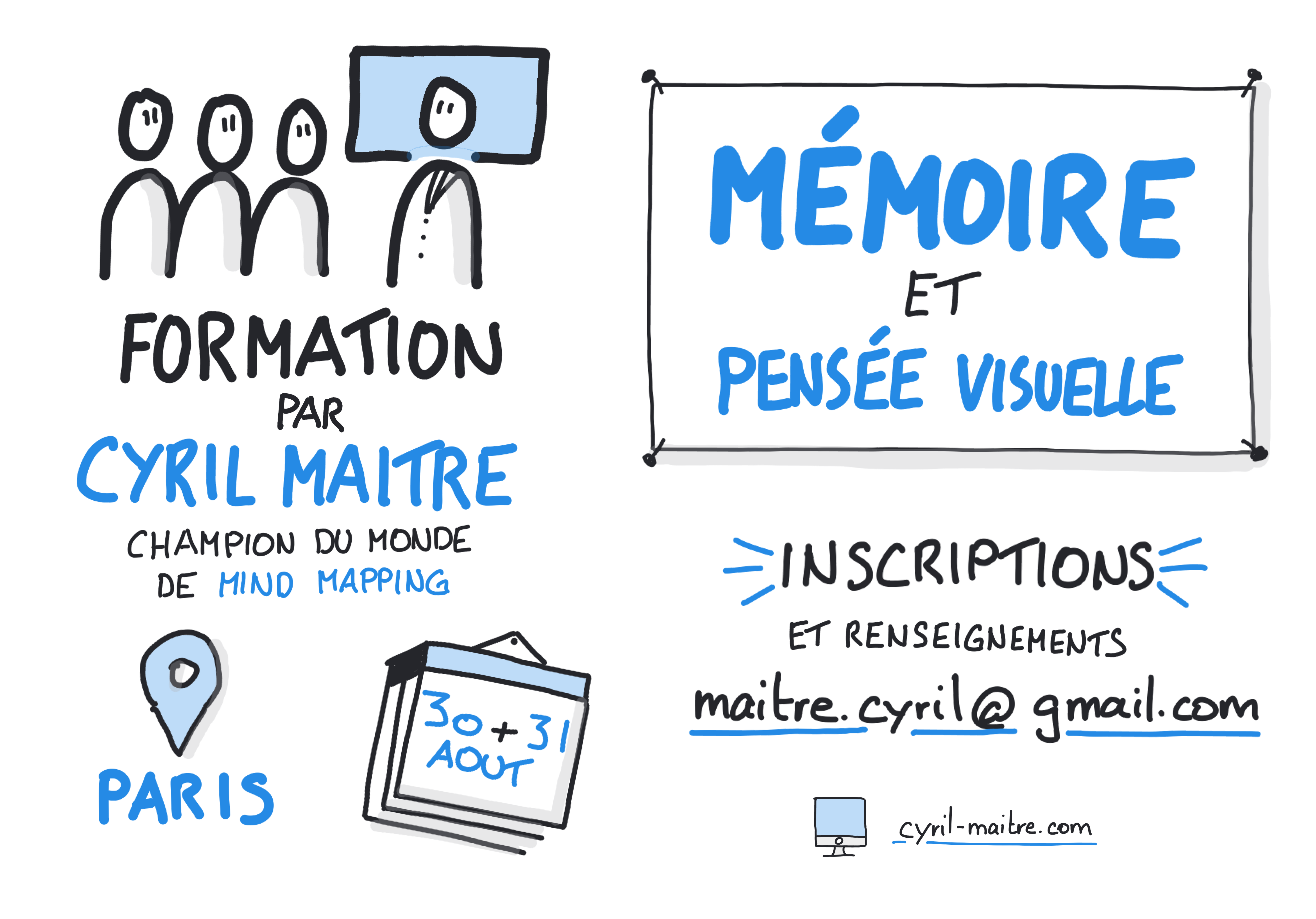 Visuel memoire et pensee visuelle cyril maitre Paris 2020 08