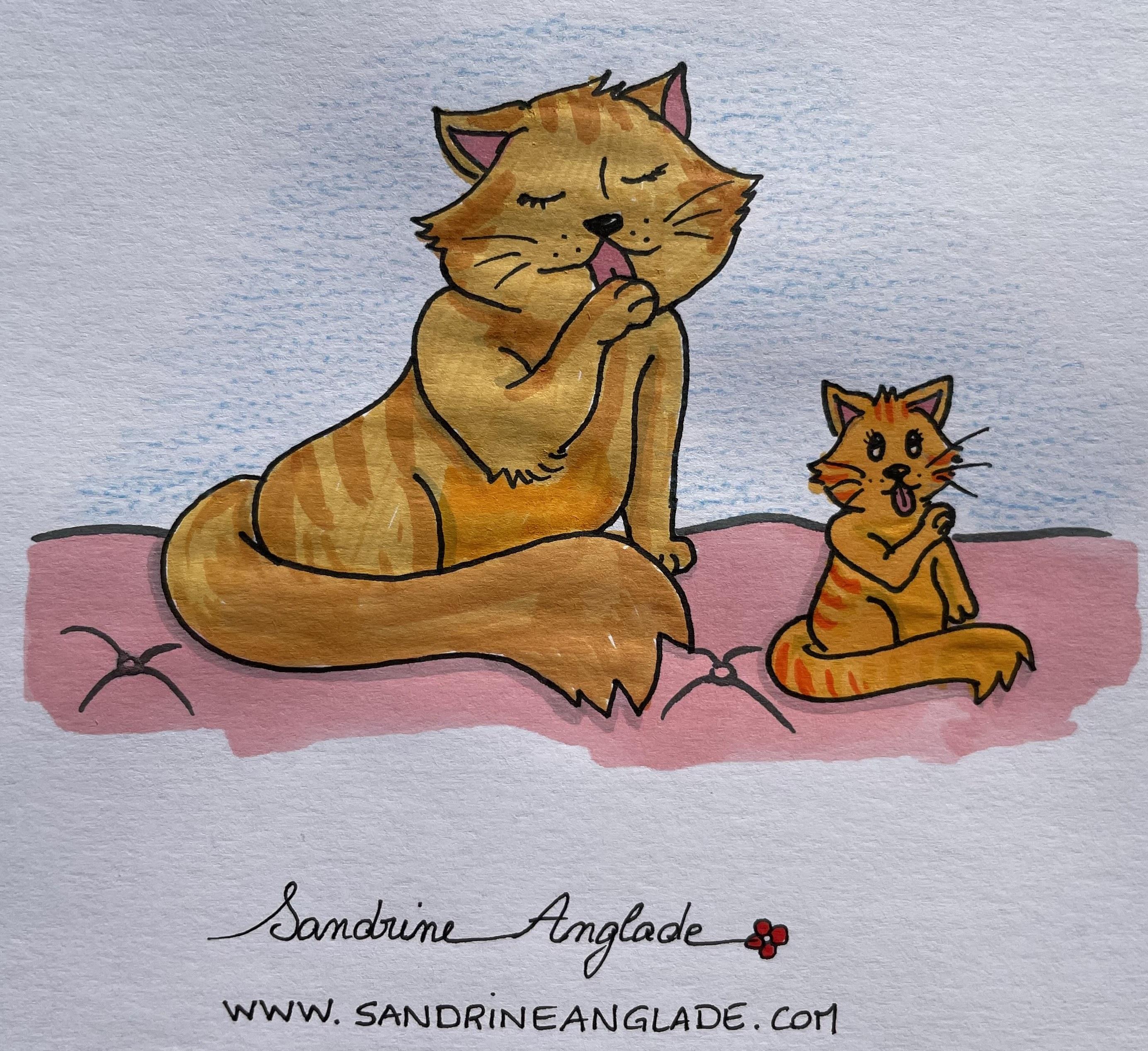 claudia eusebio sandrine anglade chats