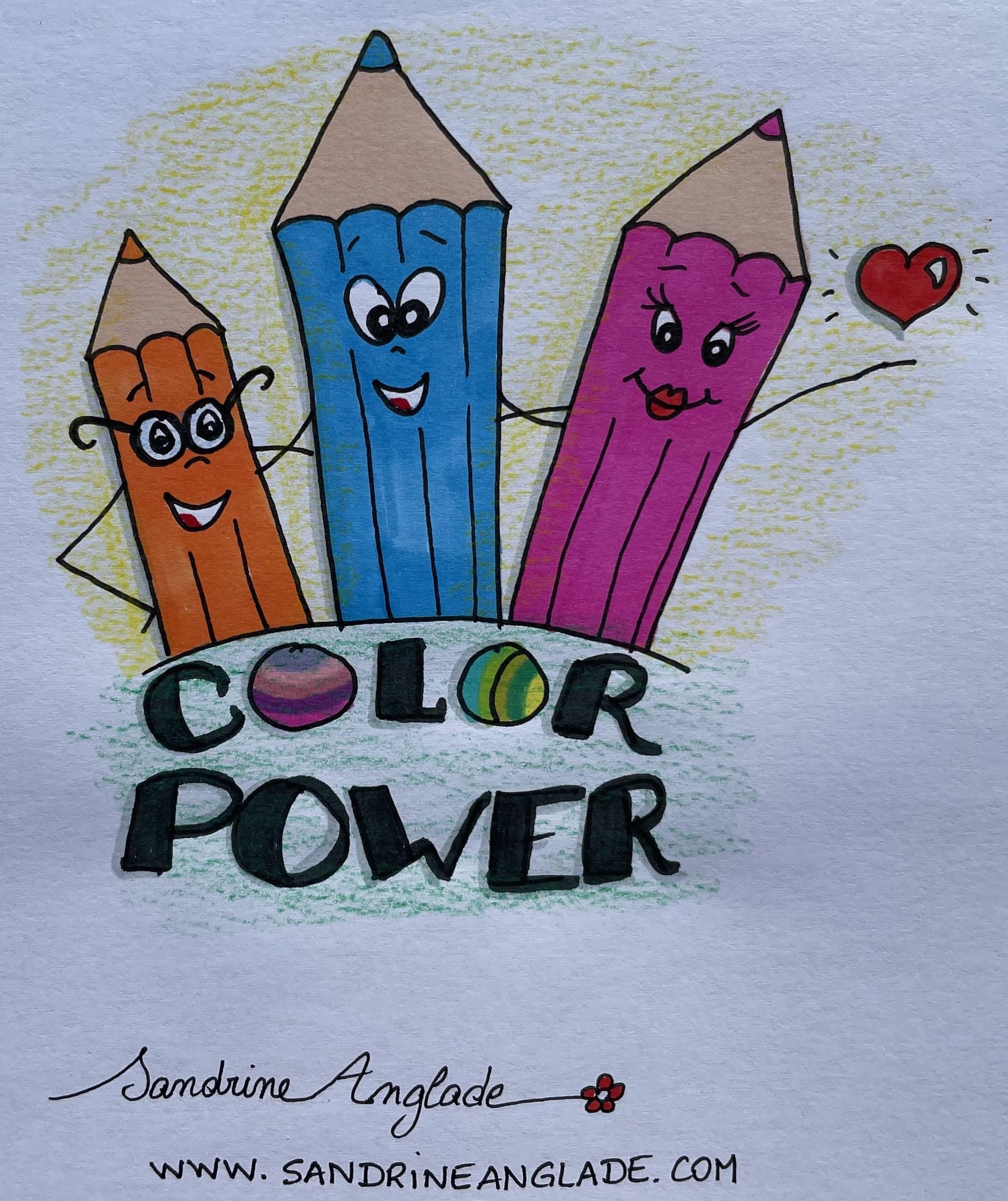 color power claudia eusebio sandrine anglade