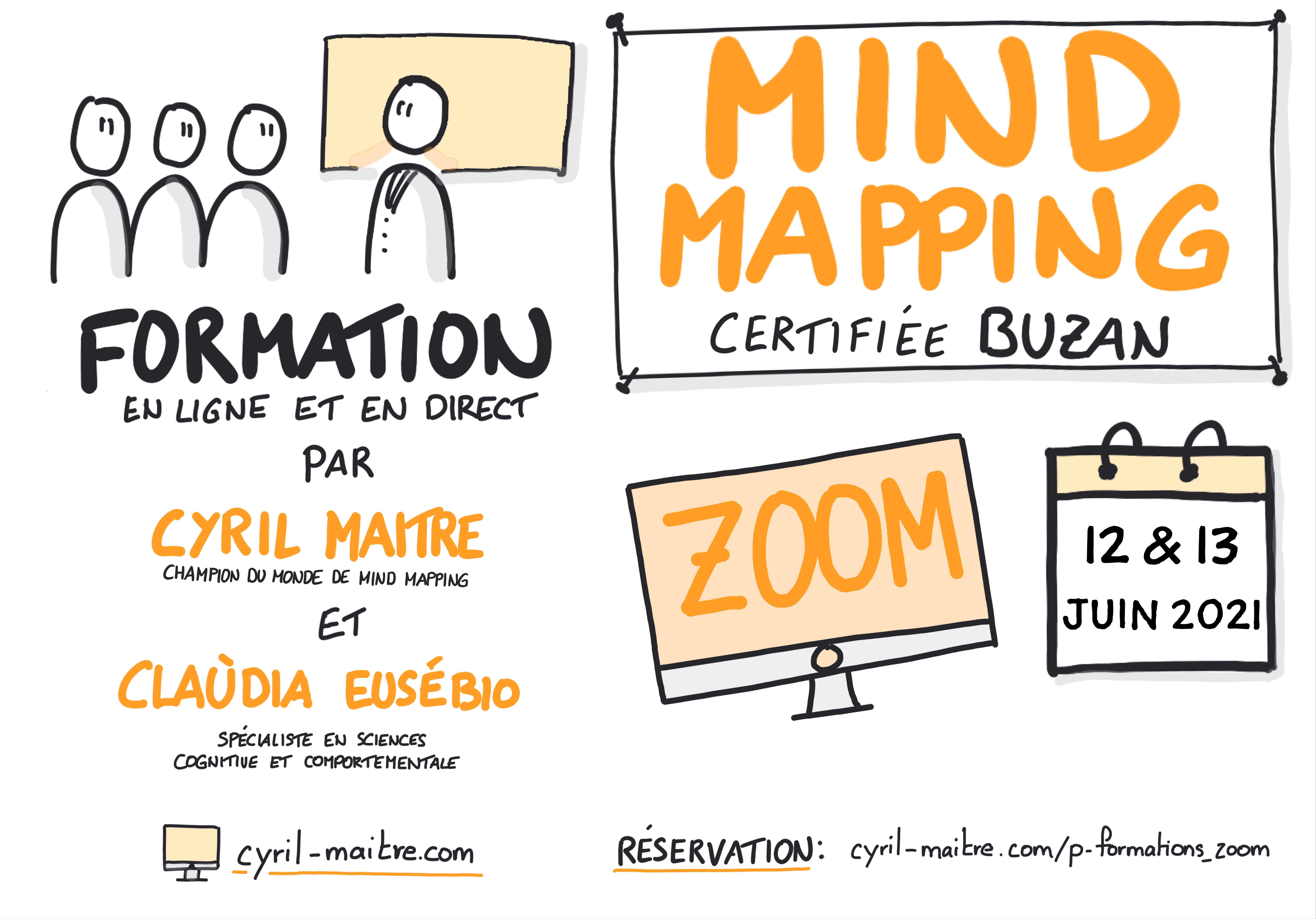 cyril maitre claudia eusebio formation mind mapping