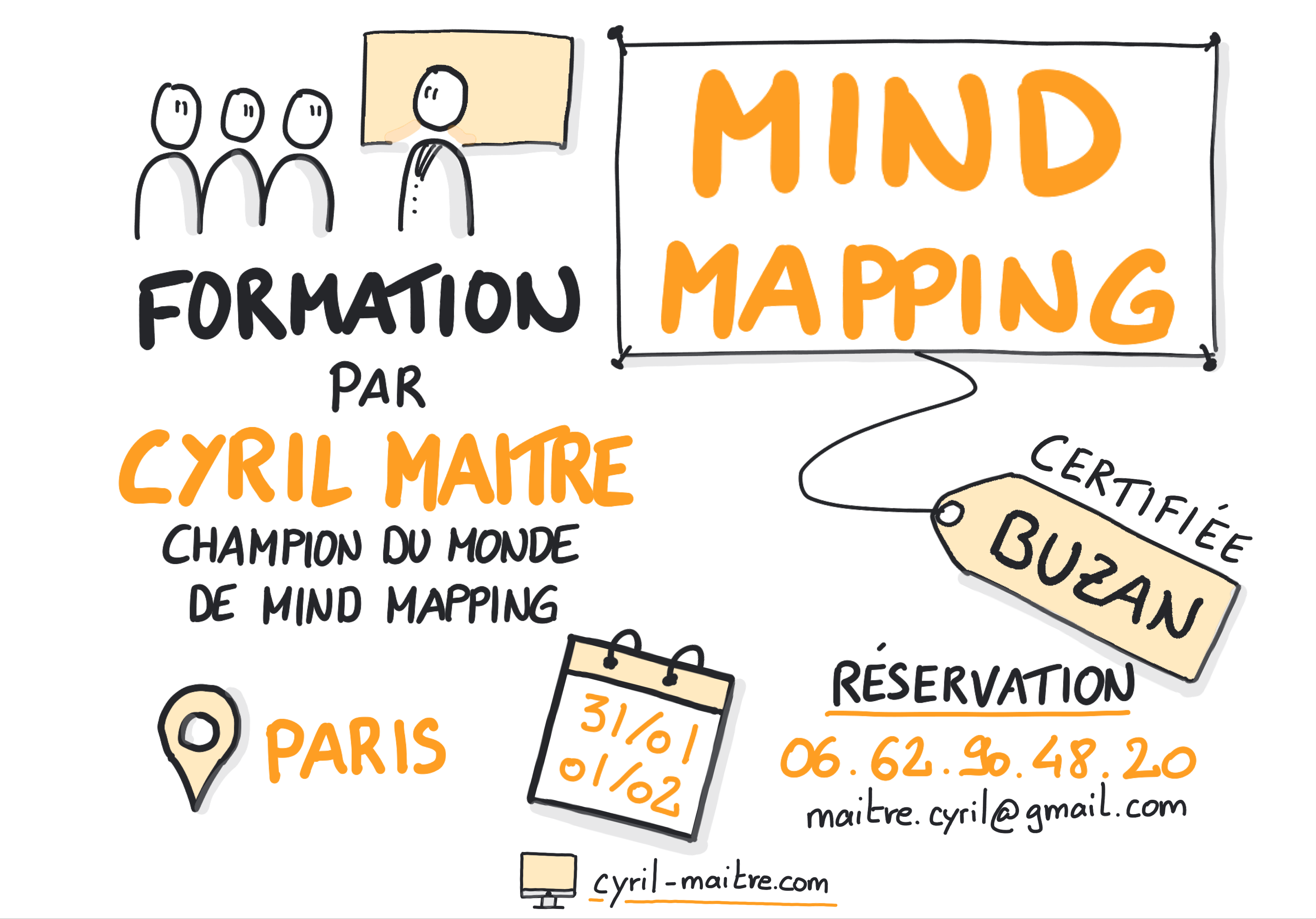 formation mind mapping cyril maitre buzan paris 1