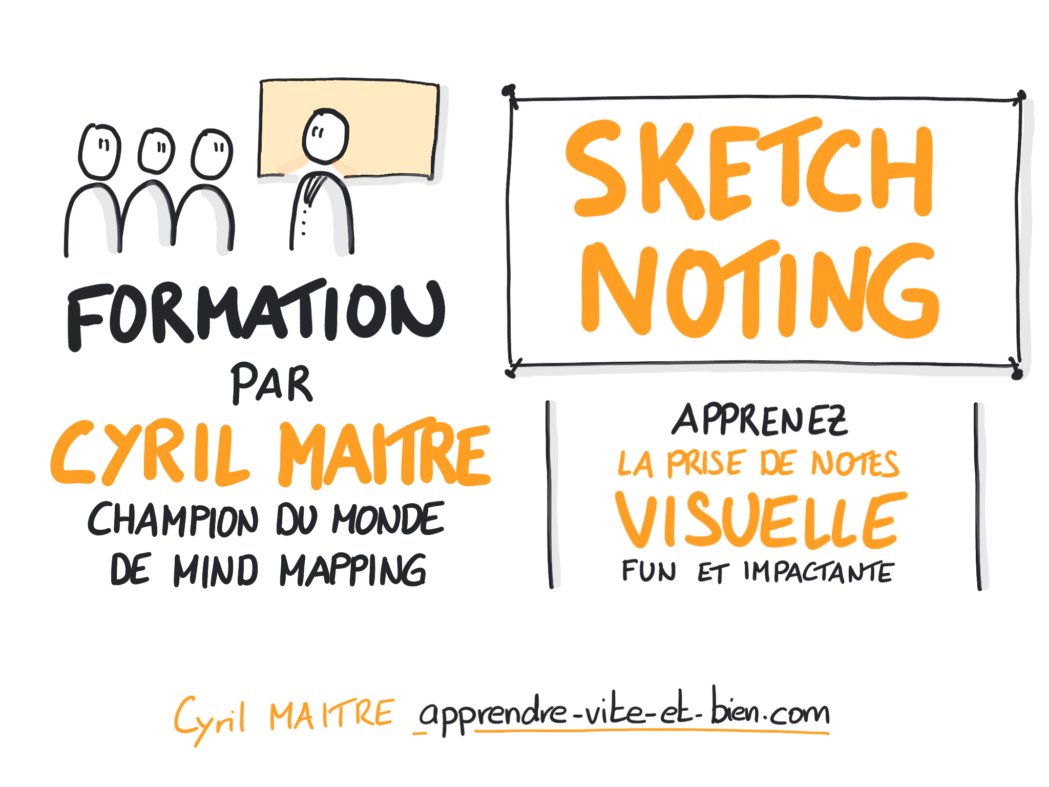 Formation praticien SKETCHNOTING