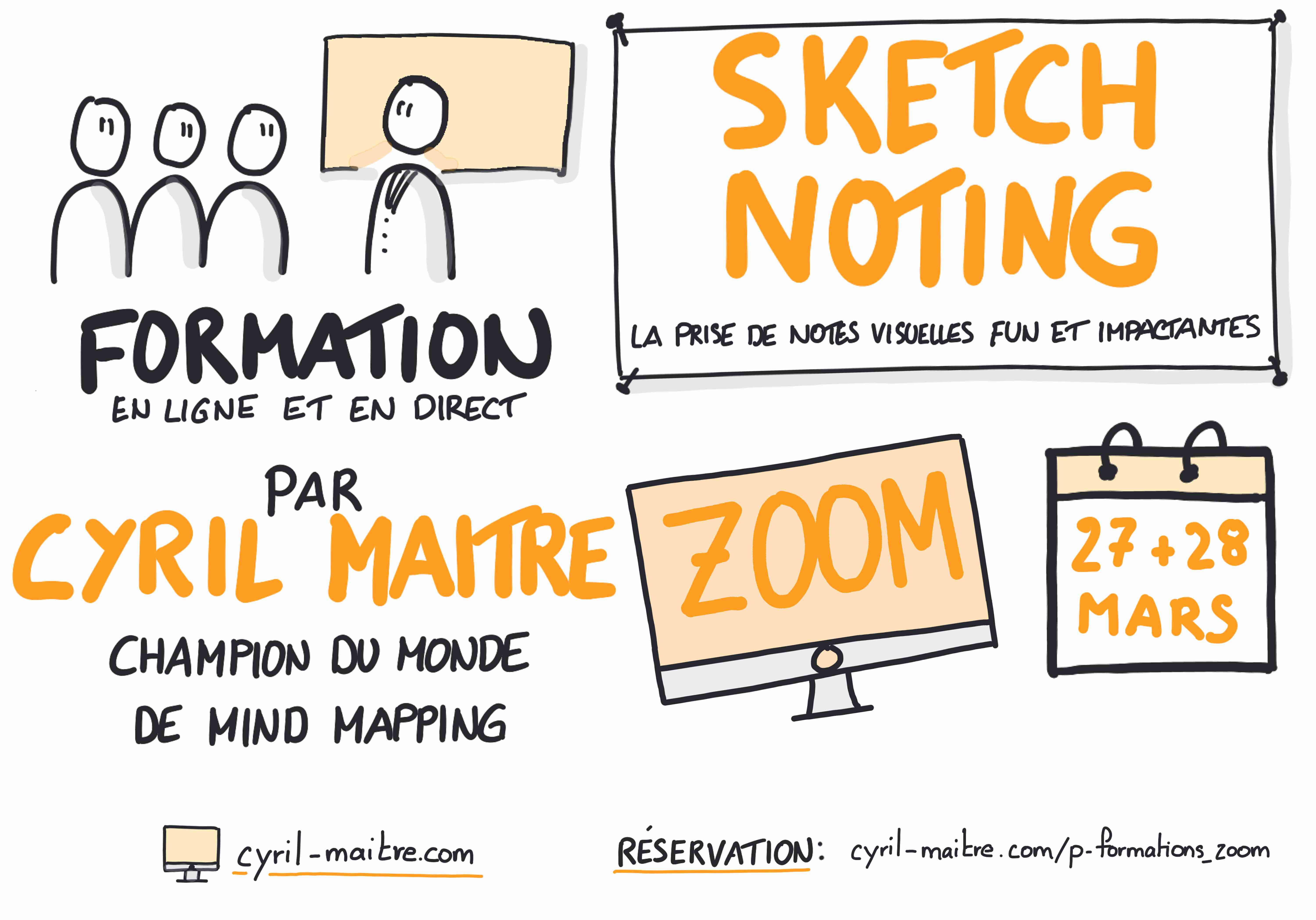 formation sketchnoting cyril maitre mars 2021