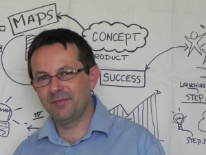 Philippe Boukobza, formateur en visual mapping.