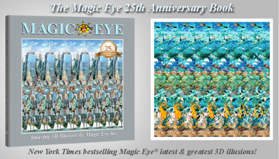 Stéréogramme : Magic eye