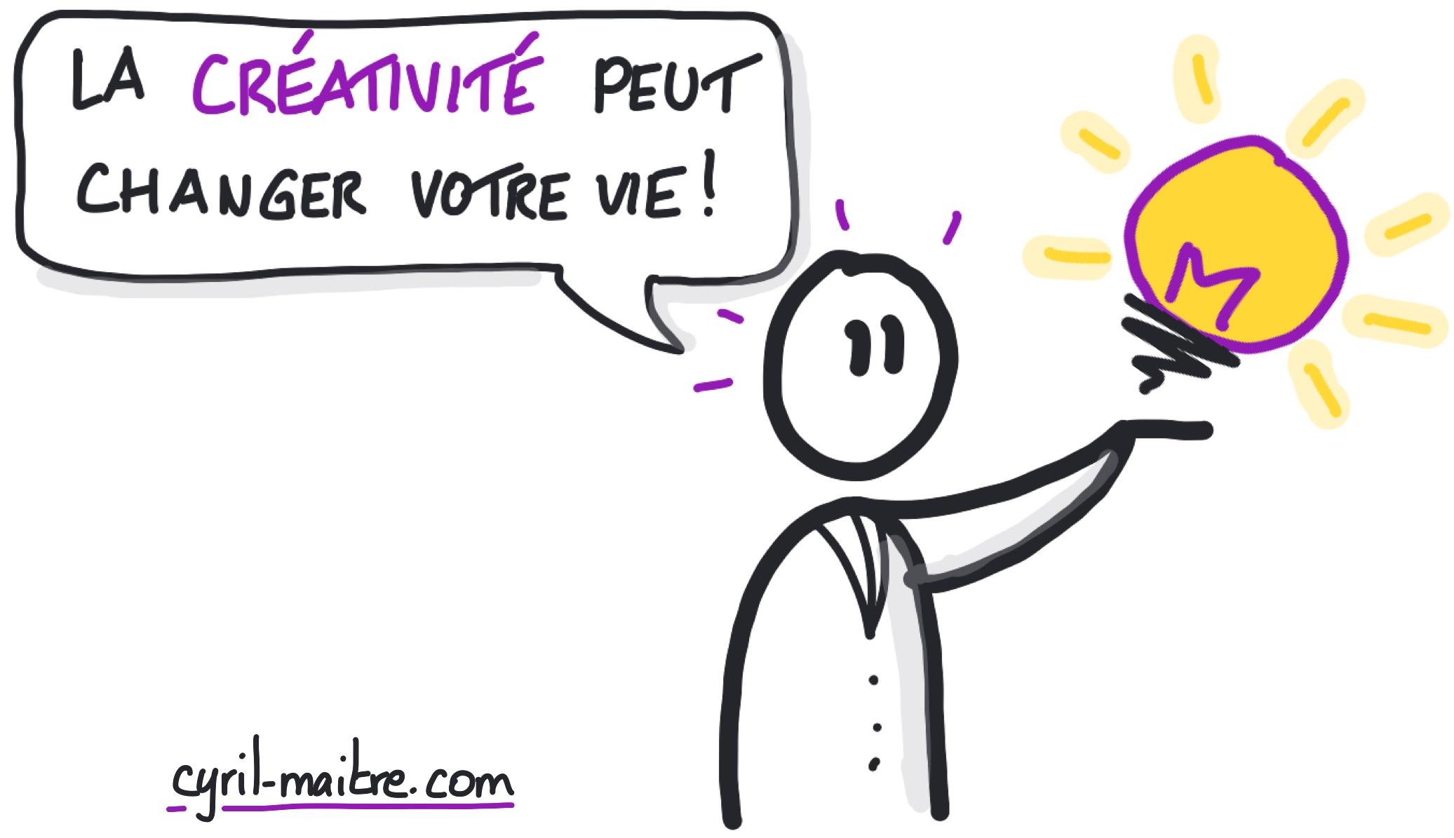 La créativité peut changer voter vie... vraiment !