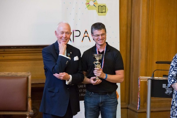 Cyril Maitre, 1er Champion de France de Mind Mapping avec Tony Buzan
