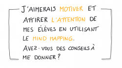 Vignette de MIND MAPPING : Comment MOTIVER et attirer L'ATTENTION des élèves