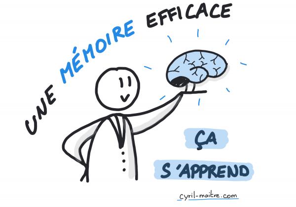 Vous pouvez apprendre à développer une mémoire efficace
