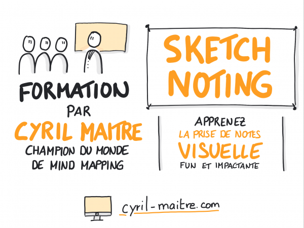 Formation Sketchnoting la prise de notes visuelles efficace et impactante