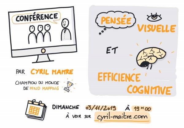 Conférence Pensée Visuelle et efficience cognitive
