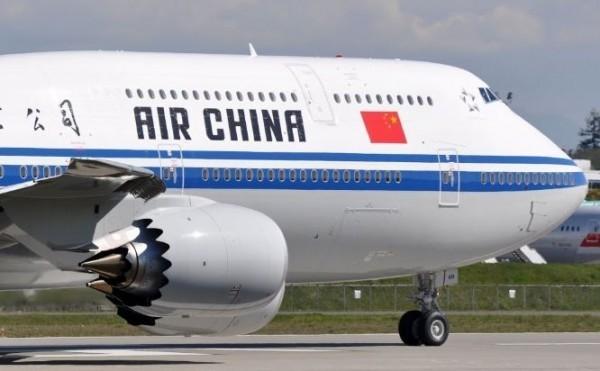 C'est parti pour 11h00 de vol avec Air China...