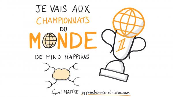 Embarquez pour le récit des Championnats du monde 2018 de Mind Mapping et de lecture rapide
