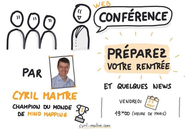 Webconférence Préparez votre rentrée