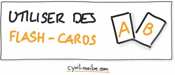 Utiliser des flash cards