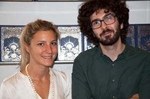 Hana Ros et Matteo Farinella