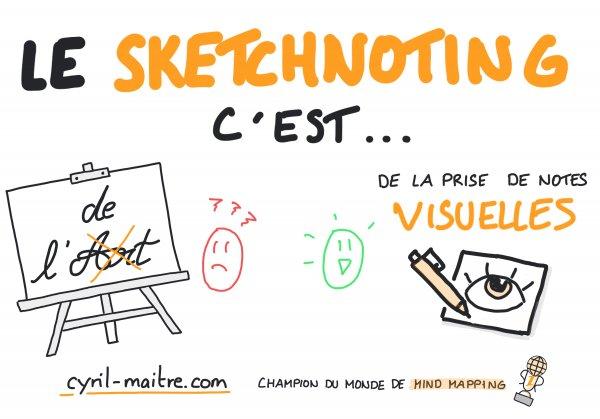 Le sketchnoting n'est pas de l'art !