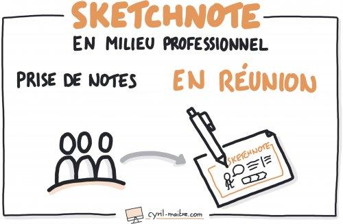 Sketchnoter en réunion