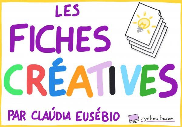Les fiches créatives - par Claúdia Eusébio