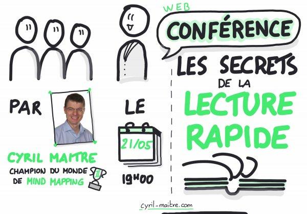 Replay de la conférence Les secrets de la Lecture Rapide
